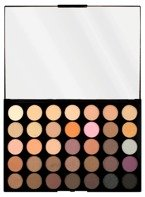 Makeup Revolution PRO HD Amplified 35 Palette Neutrals Warm Paleta 35 cieni do powiek