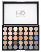 Makeup Revolution PRO HD Amplified 35 Palette Smoulder Paleta 35 cieni do powiek