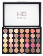 Makeup Revolution PRO HD Amplified 35 Palette Socialite Paleta 35 cieni do powiek