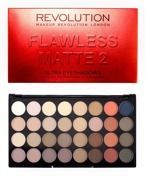 Makeup Revolution Ultra 32 Eyeshadow Flawless Matte 2- Paleta 32 matowych cieni do powiek