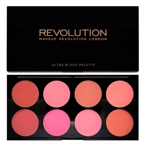 Makeup Revolution Ultra Blush Palette - Paleta kremowych róży do policzków All About Cream, 13 g