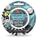 Marion TROPICAL ISLAND Peeling drobnoziarnisty do twarzy Black Coco 8g