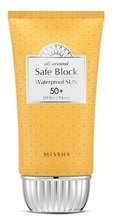 Missha Safe Block Waterproof Sun SPF50+ PA++++ Wodoodporny krem do opalania 50ml