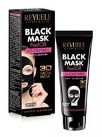 Revuele Black Mask 3D Koenzym Q10 Maska peel-off do twarzy 80ml