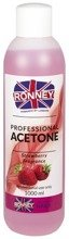Ronney Professional Nail Acetone Strawberry Aceton 1000ml
