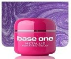 Silcare Base One Metalic 42 Romantic Violet Żel kolorowy 5g