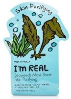 TonyMoly I`m Real Seaweeds Mask Sheet Purifying Maska do twarzy w płachcie