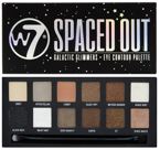 W7 Spaced Out Galactic Glimmer Eye contour Palette Paleta cieni do powiek
