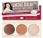 theBalm Smoke Balm Smokey Eye Pallete 4 Paletka 3 cieni do powiek
