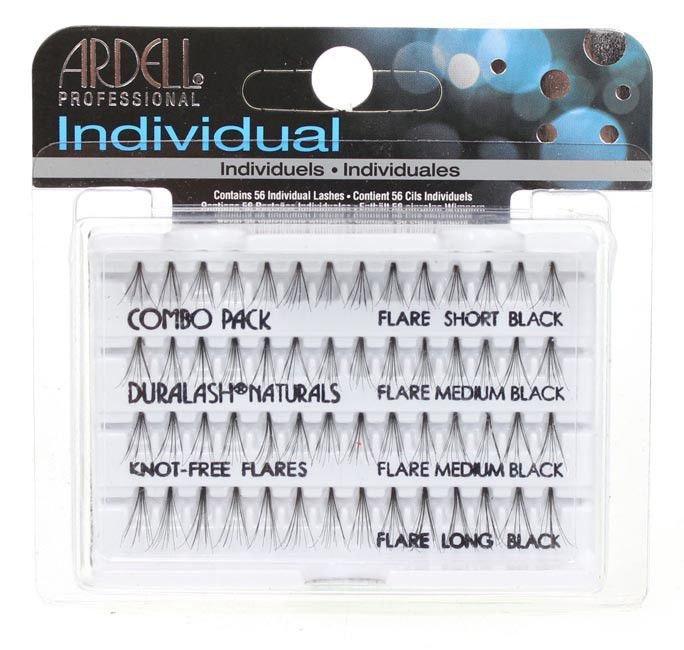 8f5a3730b32 Ardell Individual Combo Pack Duralash Naturals Knot-Free Flares - Komplet  kępek sztucznych rzęs bez ...