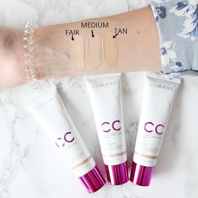 0e0f8627b82 Lumene CC Color Correcting Cream Podkład krem CC 6 in 1 Light 30ml