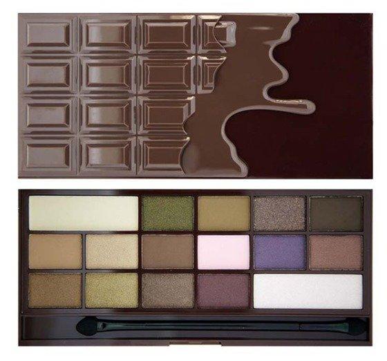 Nietypowy Okaz Makeup Revolution Wonder Palette I heart Chocolate | ekobieca.pl BZ94