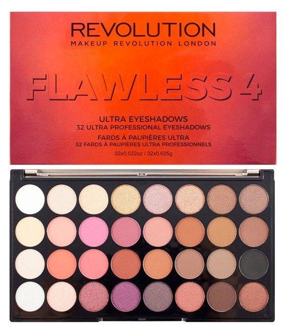 Bardzo dobry Makeup Revolution Ultra 32 Eyeshadow Palette Flawless 4 | ekobieca.pl ER09