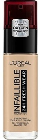 Loreal Infallible 24H Fresh Wear Foundation Długotrwały podkład do twarzy 125 Natural Rose 30ml