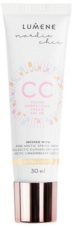 Lumene CC Color Correcting Cream 6in1 Podkład krem CC Ultra Light 30ml