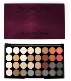 Makeup Revolution Ultra 32 Eyeshadow Palette Flawless 2 - Paleta 32 cieni do powiek