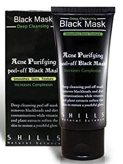Shills Black Mask Purifying peel-off - Czarna maska Peel off 50ml