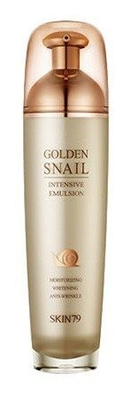 Skin79 Golden Snail Intensive Emulsion - Emulsja do twarzy z ekstraktem ze ślimaka 130ml